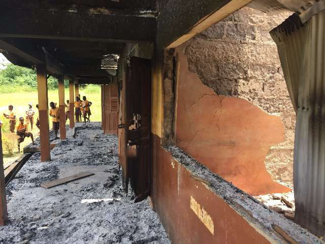 JHS students set classrooms on fire for being repeated