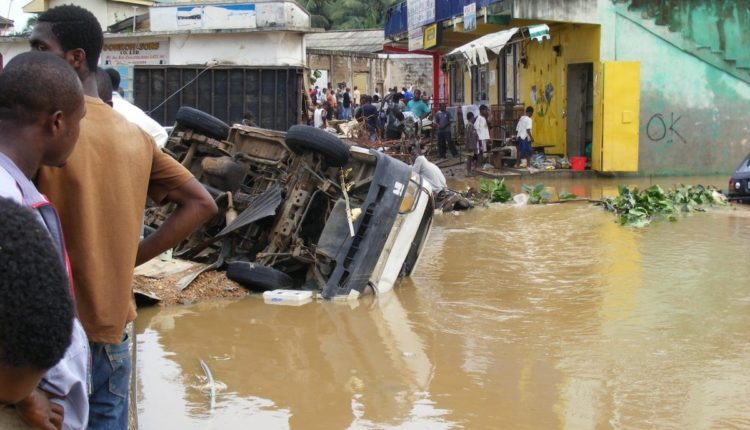 50 Homes Flooded After Heavy Rains in Kumasi