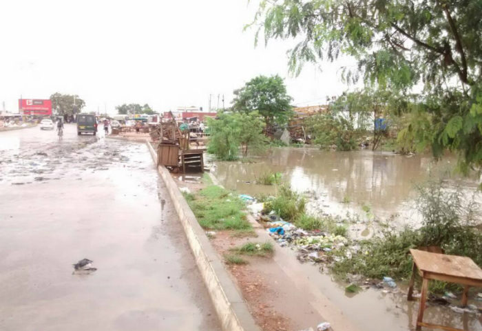 WATCH: Rainstorm Decimates Areas In Ashaiman