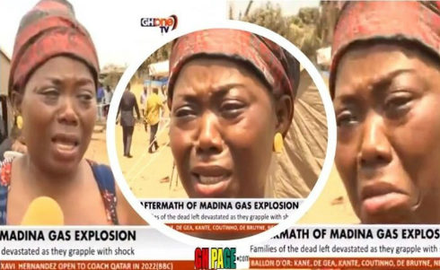 'I Am Still Looking For My Husband At Madina Atomic Junction'- Woman Cries