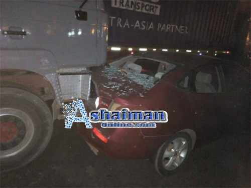 Audio: Accident Hit Ashaiman Overhead