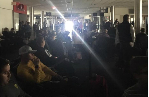 Videos: World's Busiest Airport Crippled By Power Outage