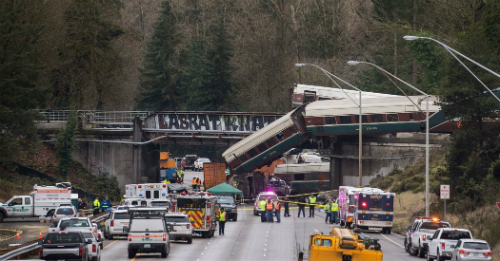 Video: At least 3 dead in Amtrak derailment in Washington state, official says