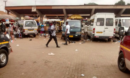 Photos: Ashaiman Main Station Wallow In Filth; Who is responsible?