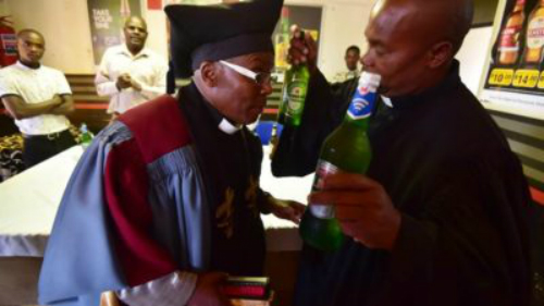 Video: The Church Of Drunkards And Smokers Opens in Johannesburg