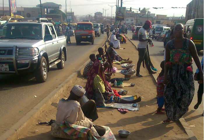 Photos: Beggars Invade Ashaiman