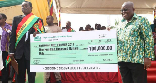 NDC man condemns gov't for awarding best farmer in dollars