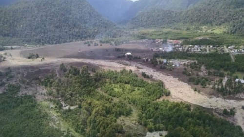 Chile: Landslide Destroys Village And Kills At Least 5