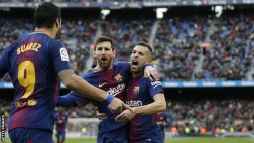 La Liga: Messi and Suarez score but Barca held by Celta Vigo