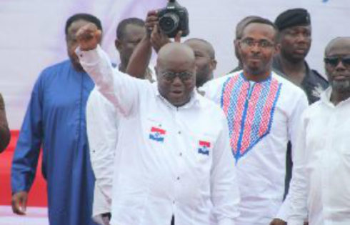 We Will Provide Jobs For Invisible Forces – Akufo-Addo