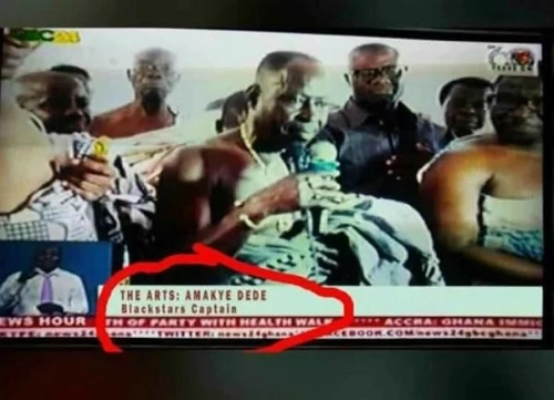 Photos: Ghanaians Mock GTV Over TV Licence